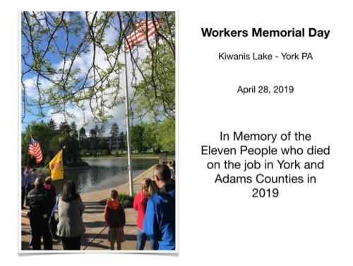 2019 - Worker Memorial 1